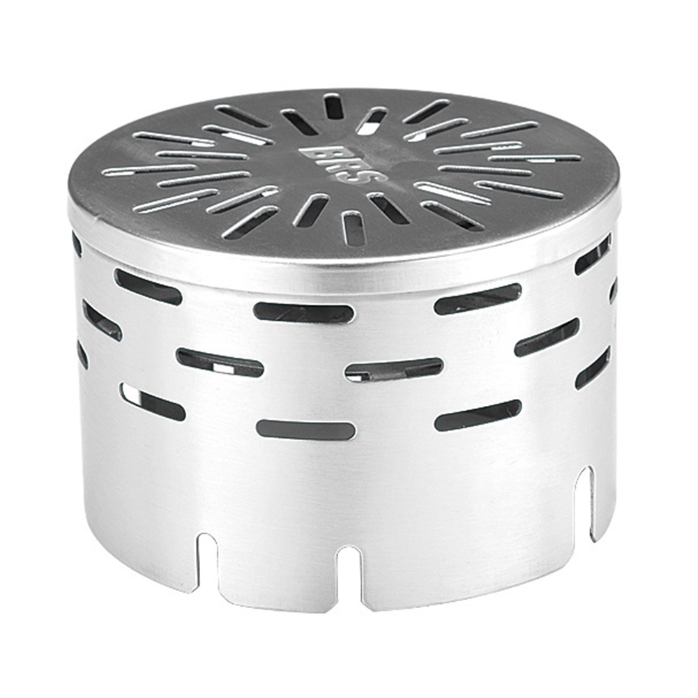 Outdoor Travel Camping Equipment Warmer Heating Stove Heating Cover Stove Windshield Silver