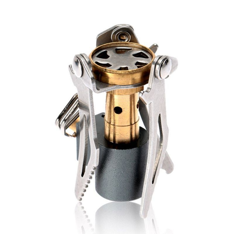 45g Ultralight Outdoor Camping Stove Mini Pocket Outdoor Portable Cooking Gas Stove  Ultra light mini burner
