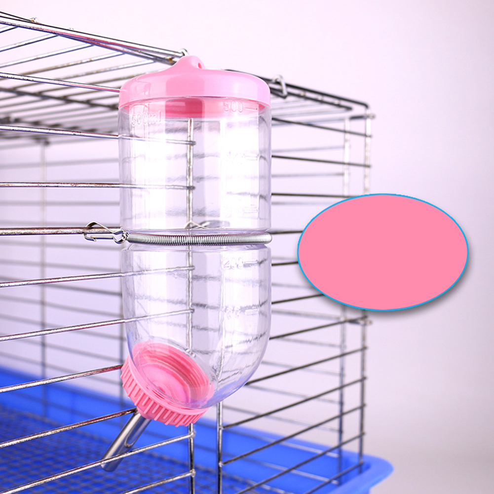 500 ML Leakproof Rolling Ball Water Dispenser for Rabbit Chinchilla Guinea Pig