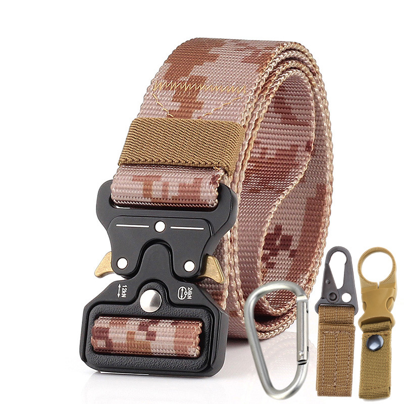 Men Tactical Belt Desert camouflage