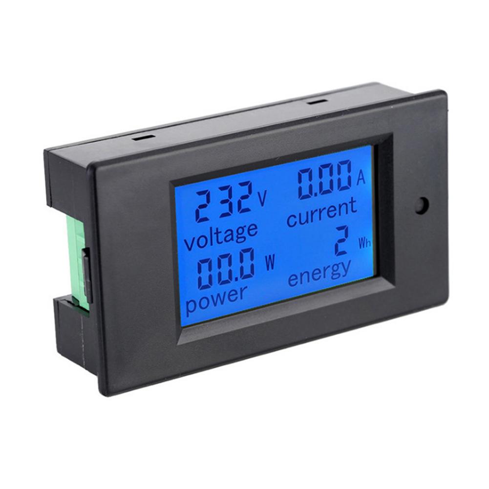 Dc Tspzem-031 Digital Watt Current Power Voltage Meter Ammeter Voltmeter as picture show