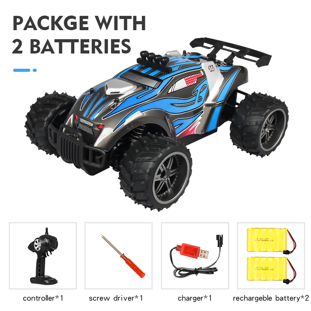 Remote Control Car X Power s-008 Blue dual battery package_1:16