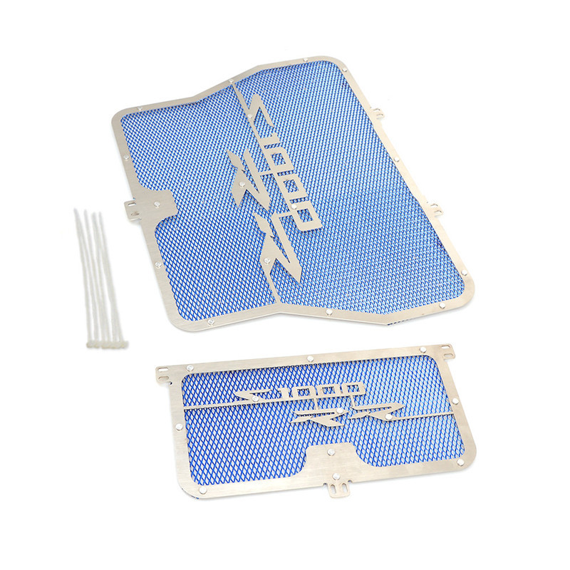 Stainless Steel Motorcycle Radiator Guard for BMW S1000RR/S1000R/S1000XR/HP4 blue