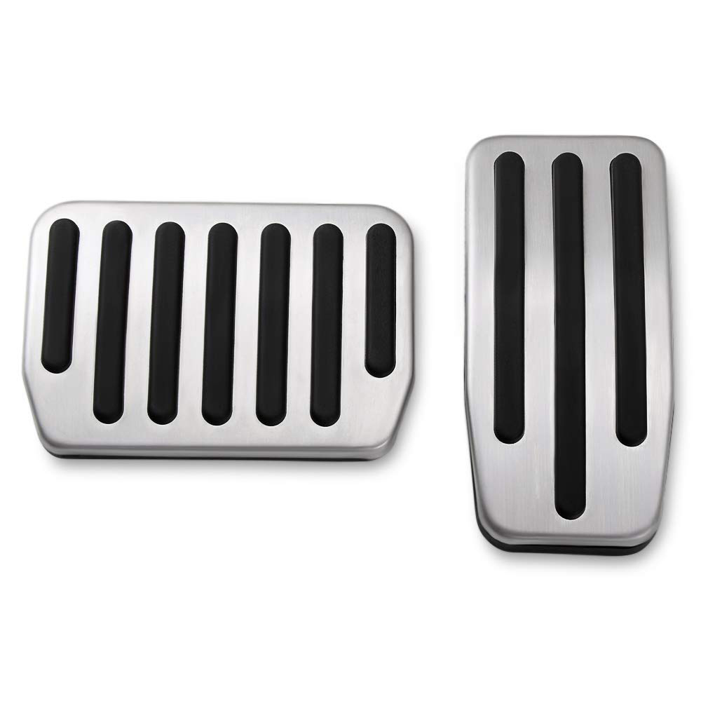 Brake Gas Pedal Non-Slip Performance Foot Pedal Pads Covers Kit for Model 3 Pedals