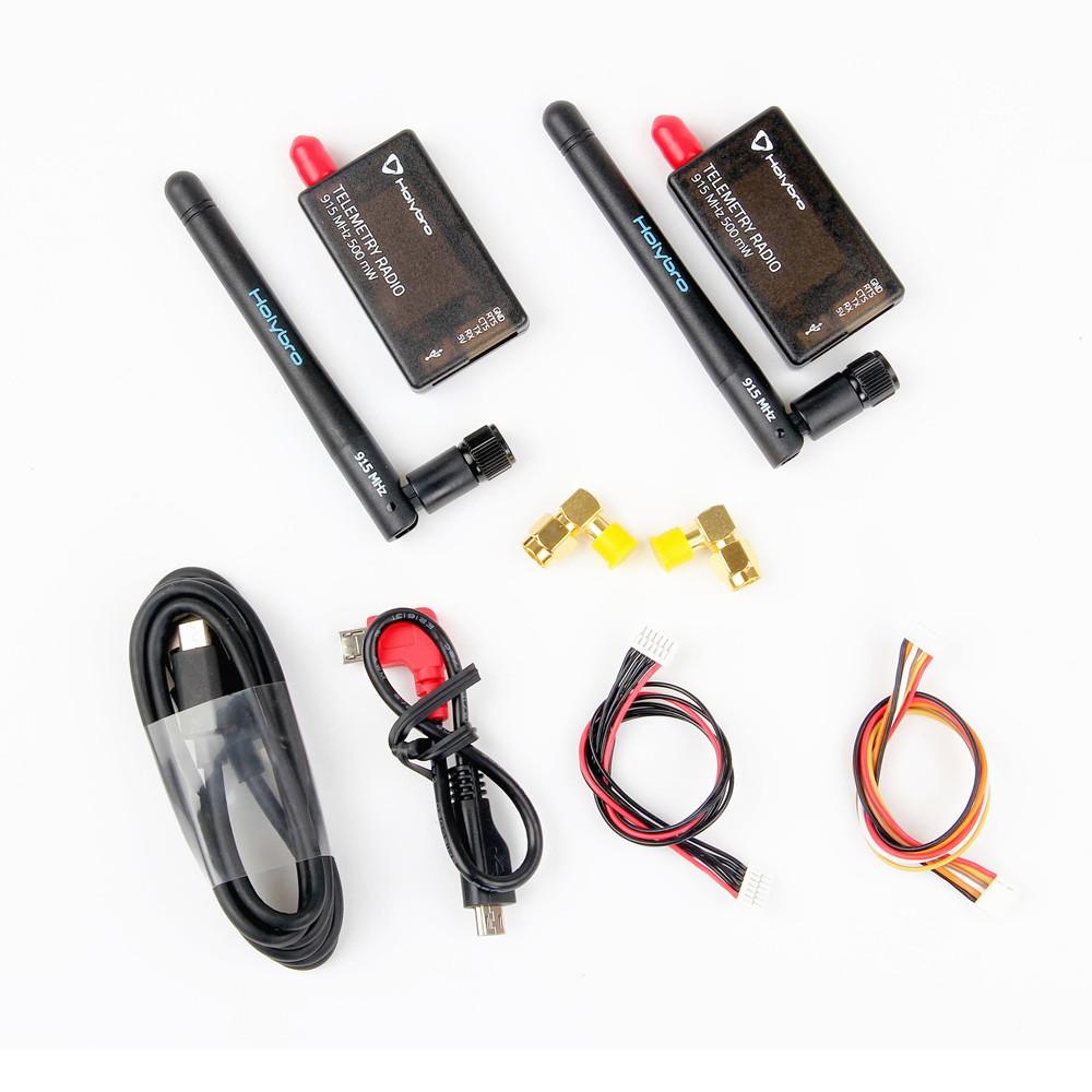 Holybro 433Mhz 915Mhz 500mW Transceiver Radio Telemetry Set V3 for PIXHawk 4 Flight Controller