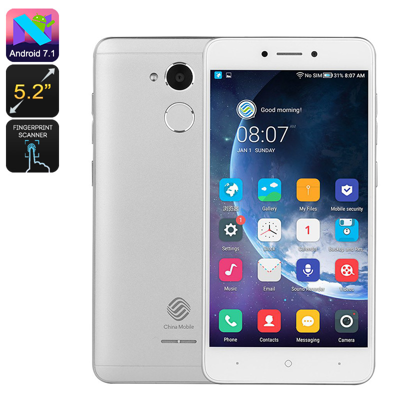 A3s Budget Smartphone (Silver)