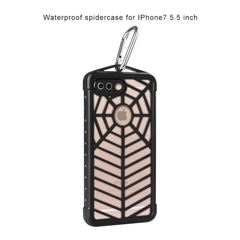 Protective Waterproof Dustproof Snowproof Shockproof Spider Case For iPhone 7 4.7 inch