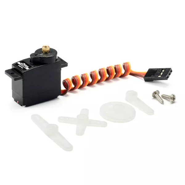 JX PDI-1109MG 9g Metal Gear Core Motor Micro Digital Servo for 450 RC Helicopter default