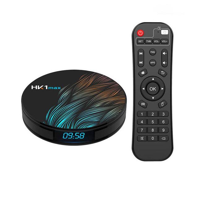 HK1 Max Smart TV Box - 4G + 32G, US Plug