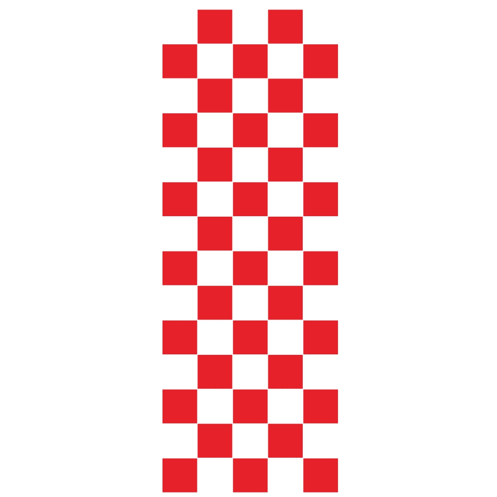 Car Covers Vinyl Racing Sports Decal Head Sticker Stripe Plaid Pattern Car Decal Accessories red