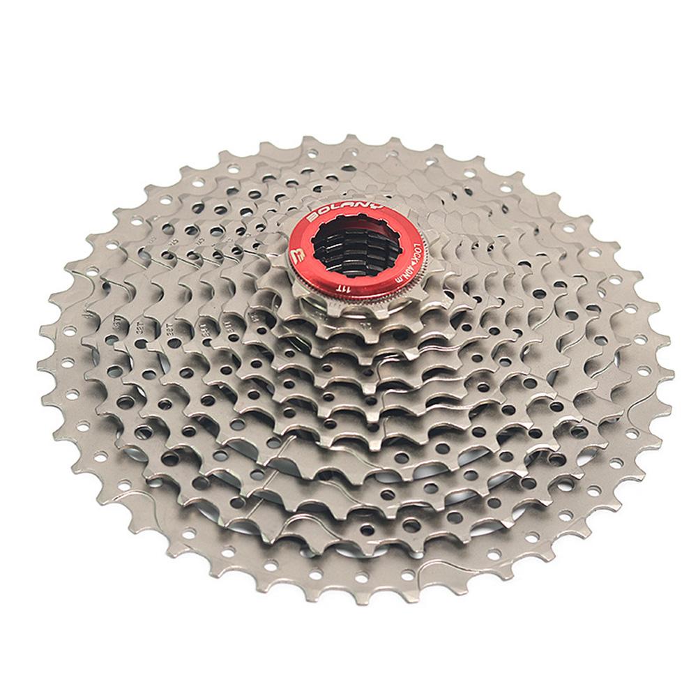 MTB Bike Freewheel 10 Speed 40T/42T MTB Mountain Bike Flywheel Bicycle Accessories 10 speed 42T silver_One size