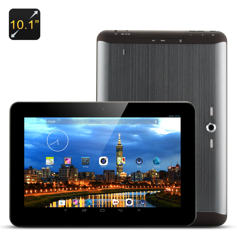10.1 Inch Tablet PC (Black)