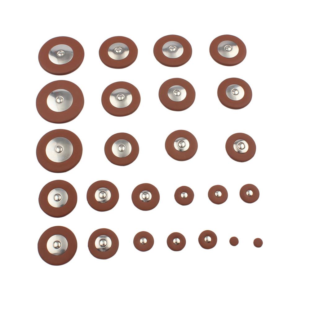 26 pcs Sax Leather Pads Replacement for Alto Saxophone alto