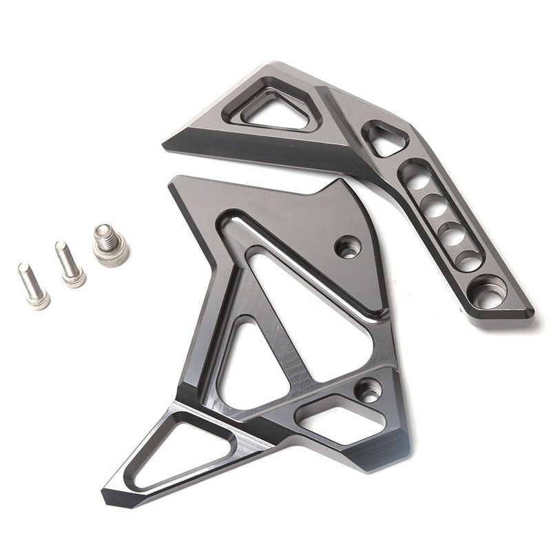 For Kawasaki Z1000/SX 14-15-16-17 Motorcycle Accessories CNC Aluminum Fuel Injection Cover gray