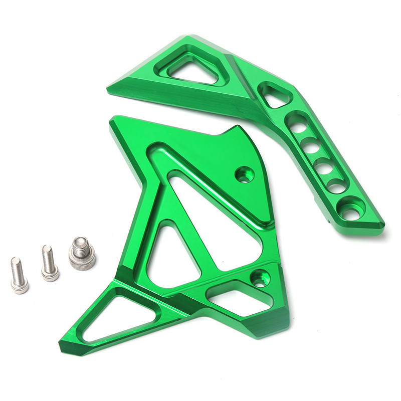 For Kawasaki Z1000/SX 14-15-16-17 Motorcycle Accessories CNC Aluminum Fuel Injection Cover green