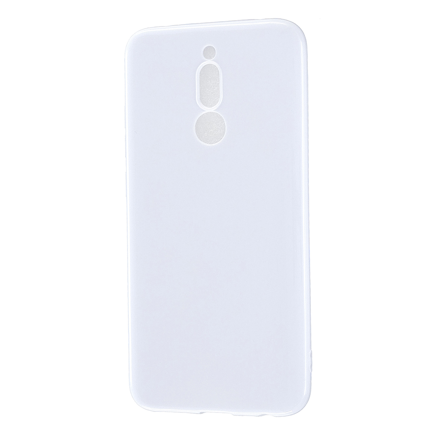 For Redmi 8 / Redmi 8A Cellphone Cover Glossy TPU Phone Case Defender Full Body Protection Smartphone Shell Milk white