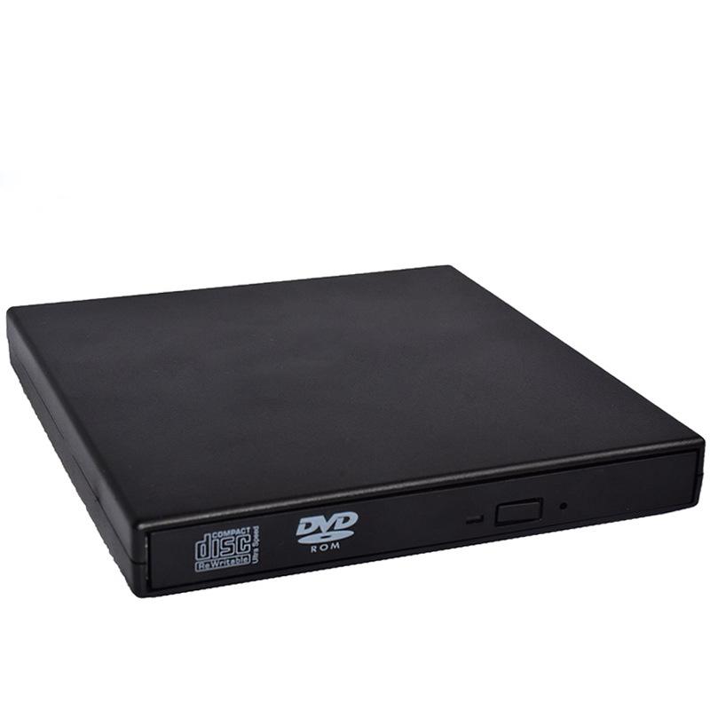 USB External DVD CD RW Disc Burner Combo Drive Reader for Windows 98/8/10 Laptop PC  black