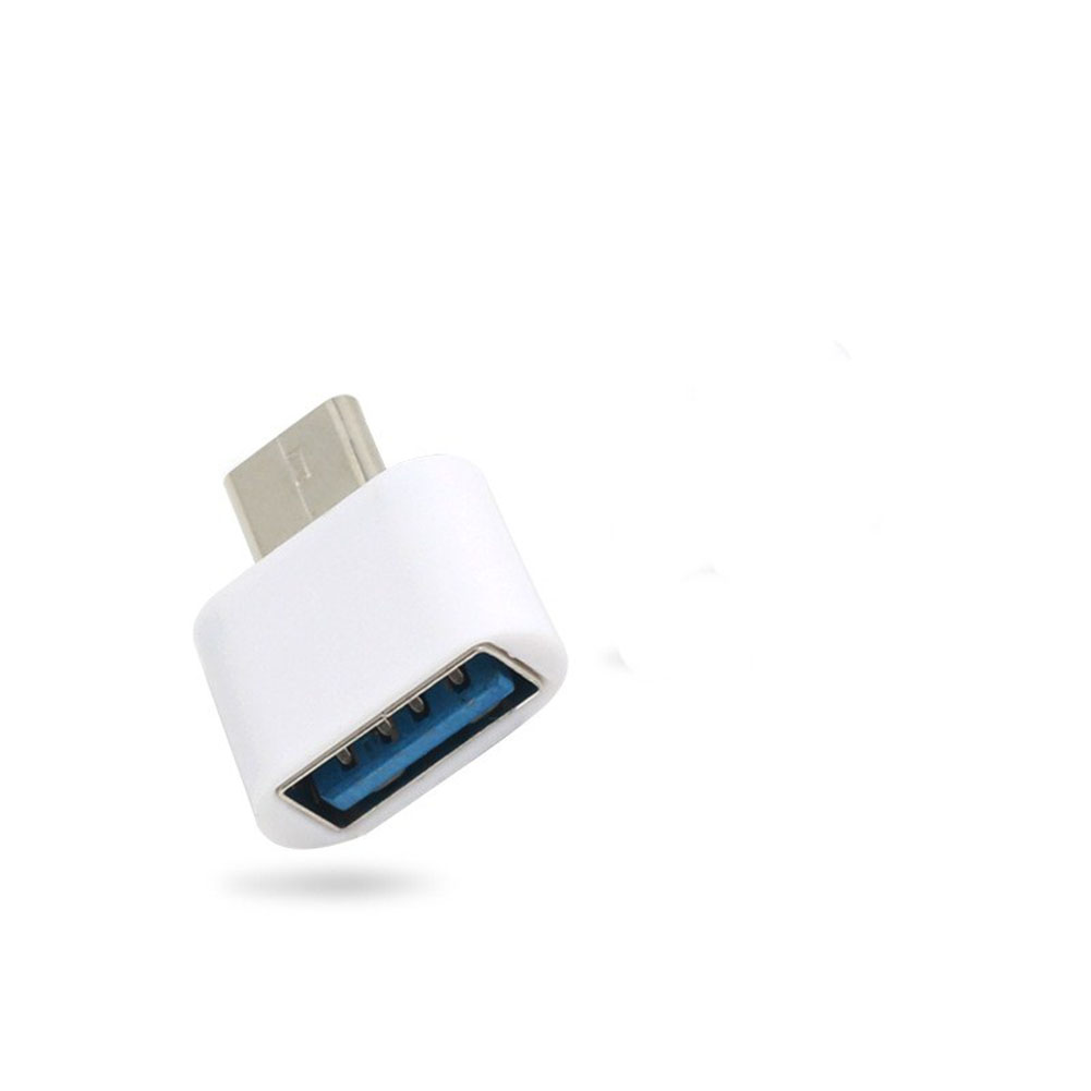 Mini Portable OTG Adapter Type C Adapter USB Adapter (white)