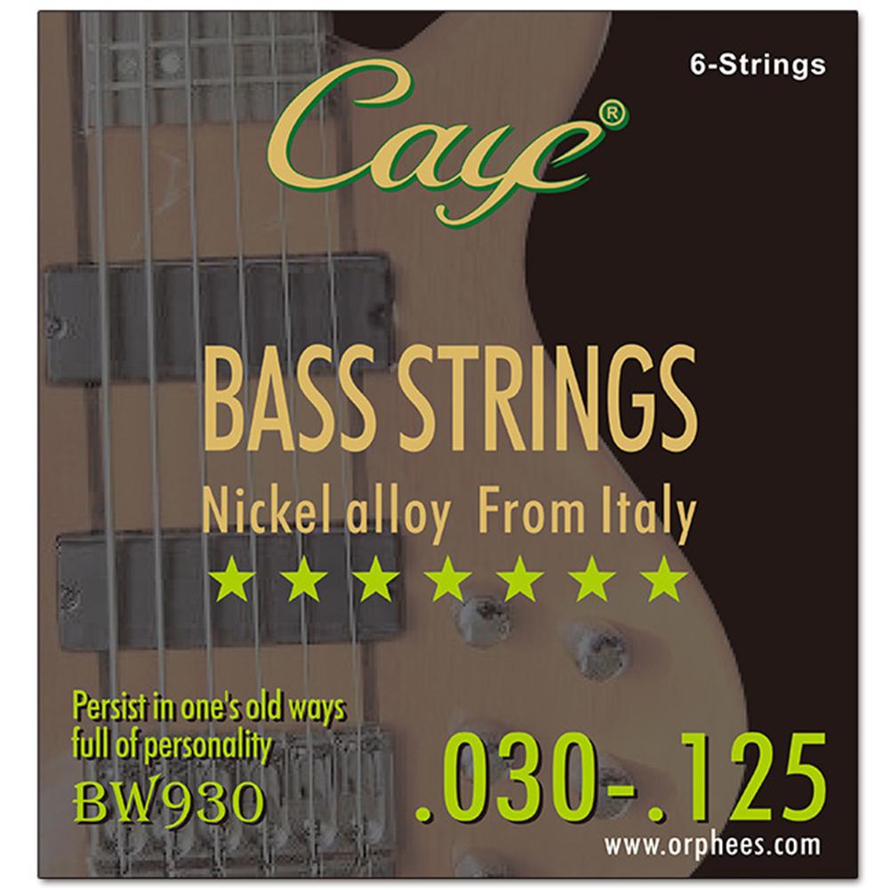 CAYE BW Series 4/5/6 pcs Bass Strings  BW930/6 string