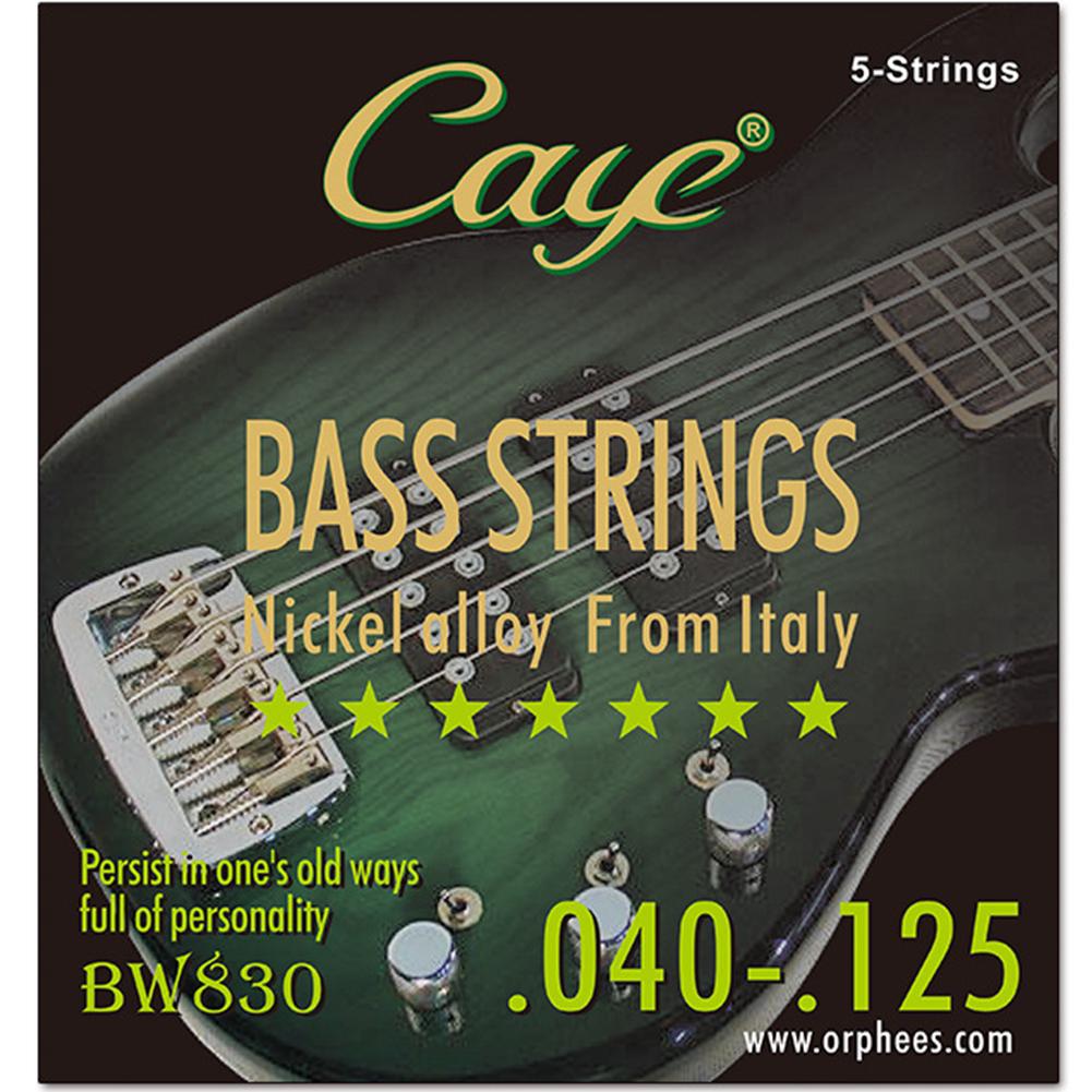 CAYE BW Series 4/5/6 pcs Bass Strings  BW830/5 string