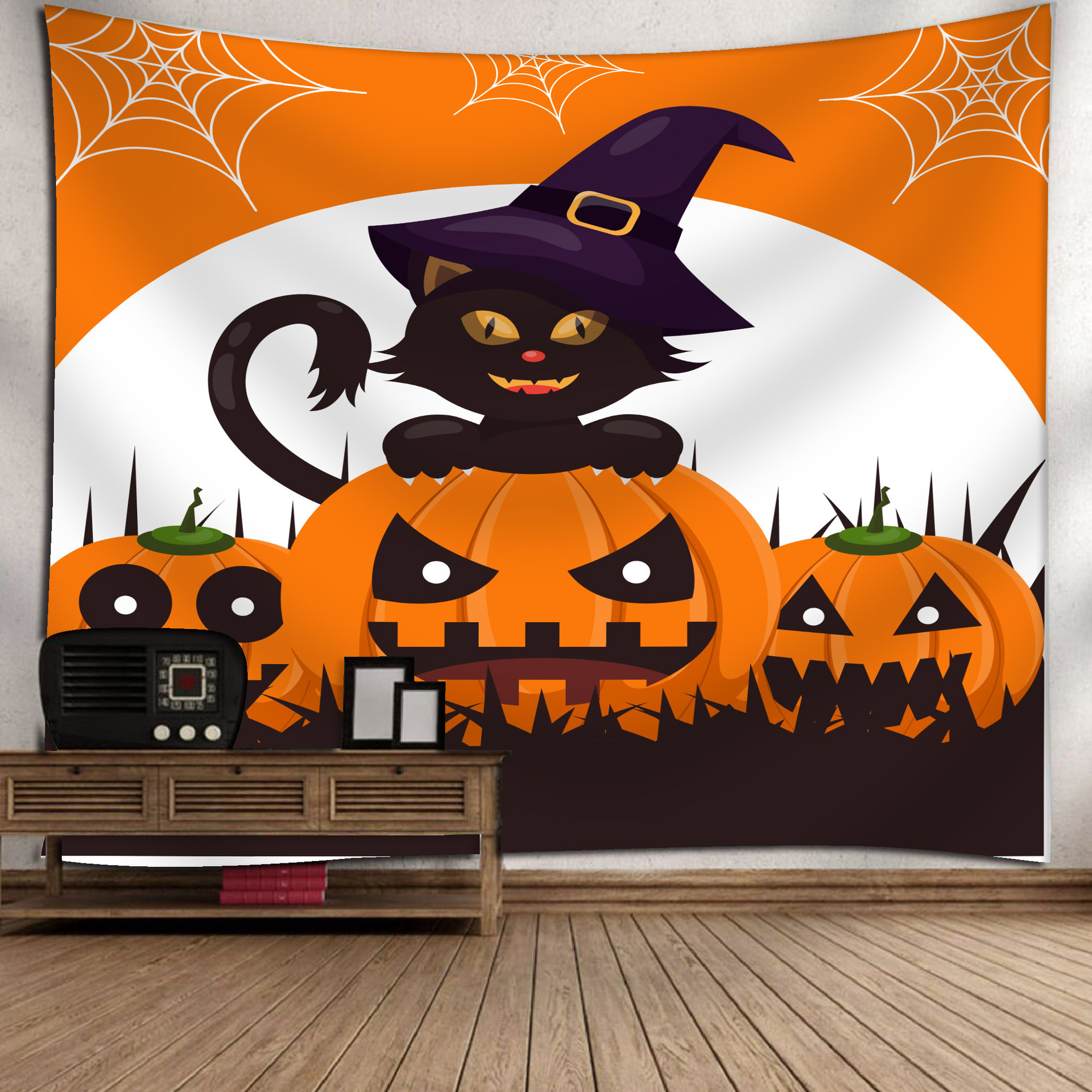 Fashion Halloween Hanging Home Tapestry Wall Decoration 6_150*130