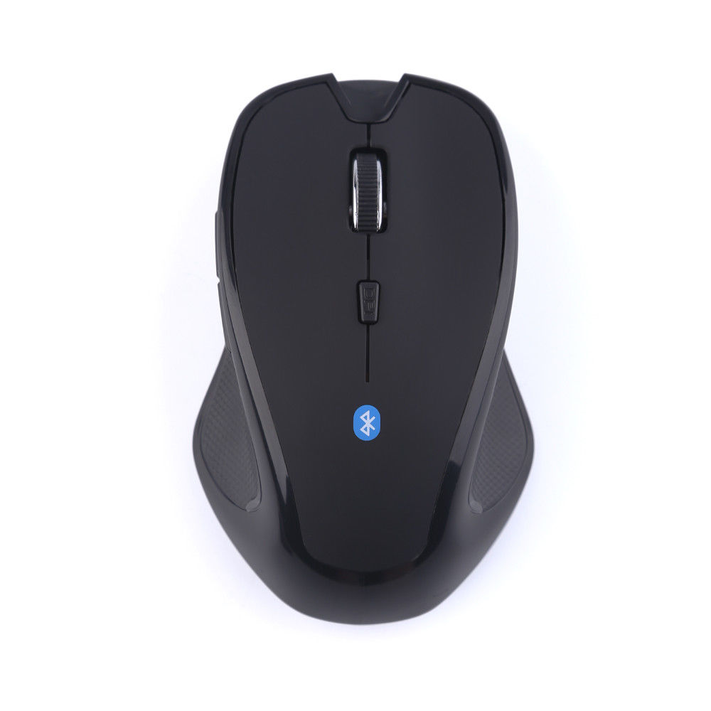 Wireless Bluetooth Mouse 6D 1600DPI 2.4GHz Optical Gaming Mouse for PC Computer black