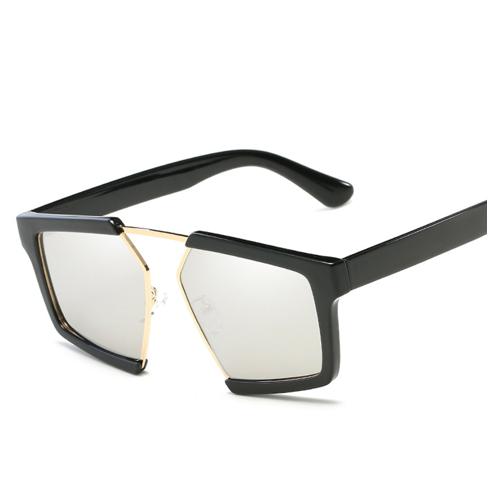 Fashion Large Frame Color Gradient Sunglasses