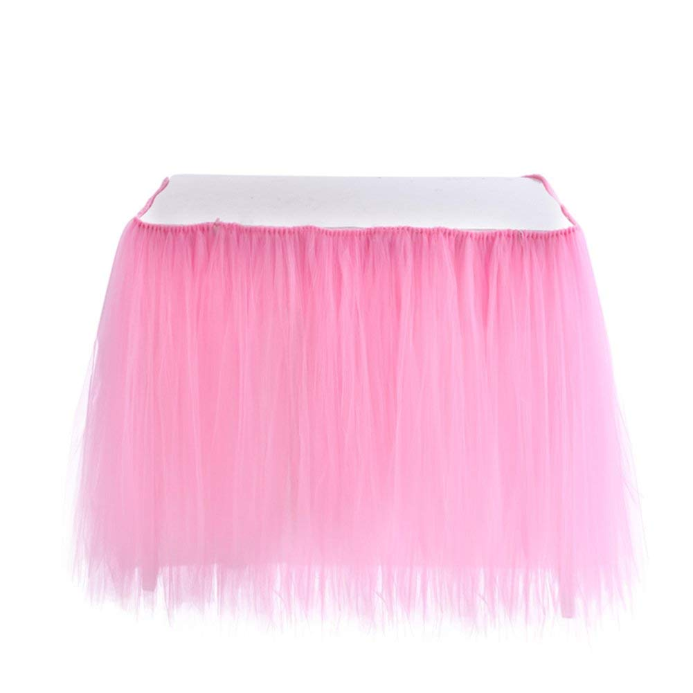 Romantic Wedding Party Table Skirts