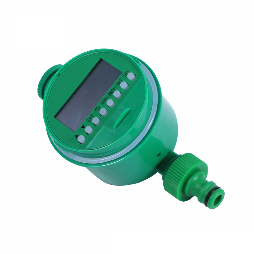 Automatic Irrigation Timer Controller System for Garden Watering green
