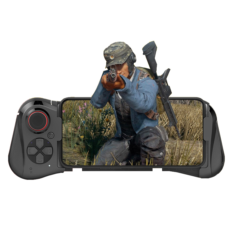 Bluetooth Gamepad PUGB Controller Universal Game Controller PUGB Mobile Joystick Control for Android iOS Smartphone black