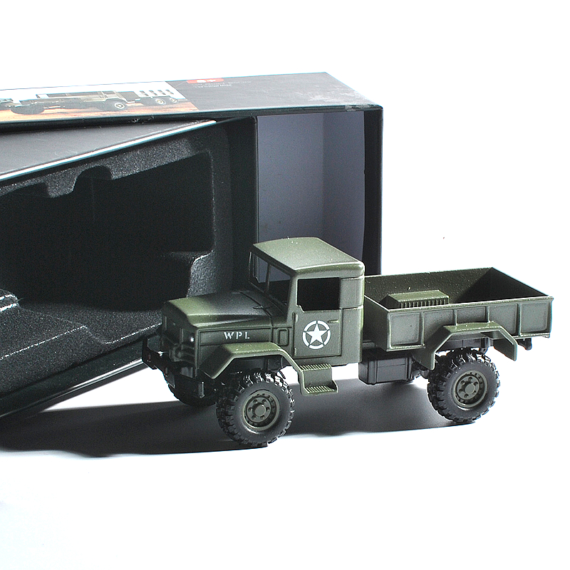WPL MB14 1/64 4WD High Simulation Vehicles Alloy Car Model for Kids Toys green_4-wheel