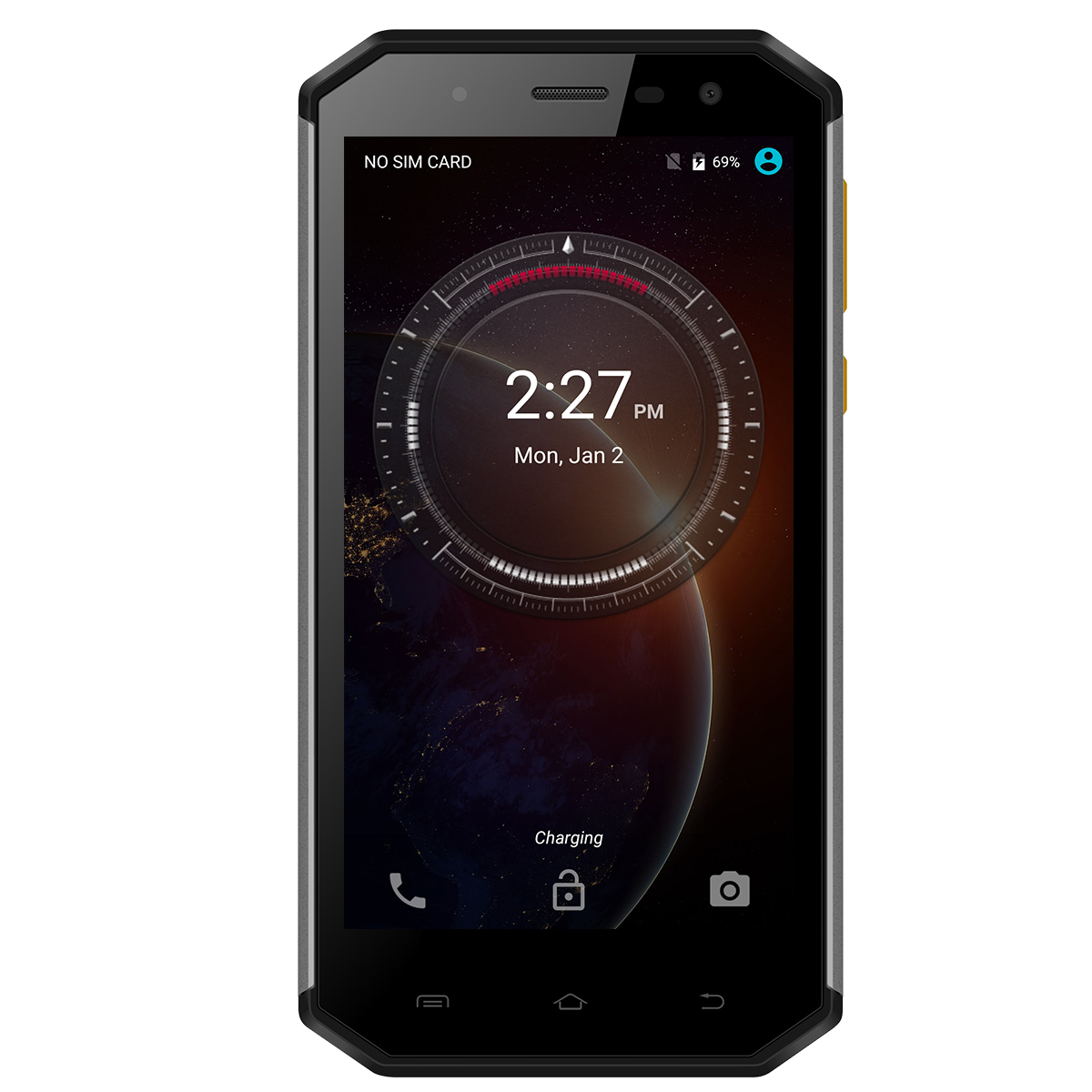 E&L S50 IP68 Waterproof 4G LTE Mobile Phone
