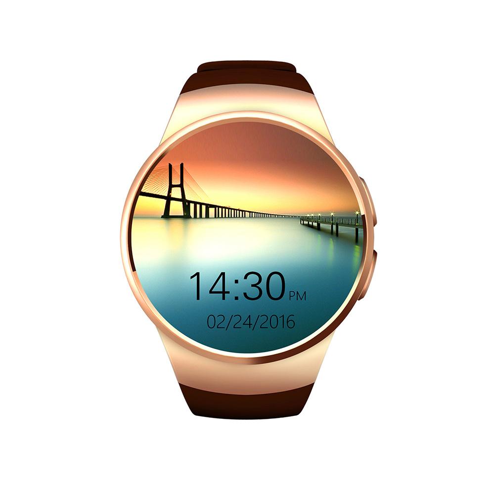 Smart Bluetooth Watch Heart Rate Monitor Sport Fitness Tracker Model Wearable Watches Golden