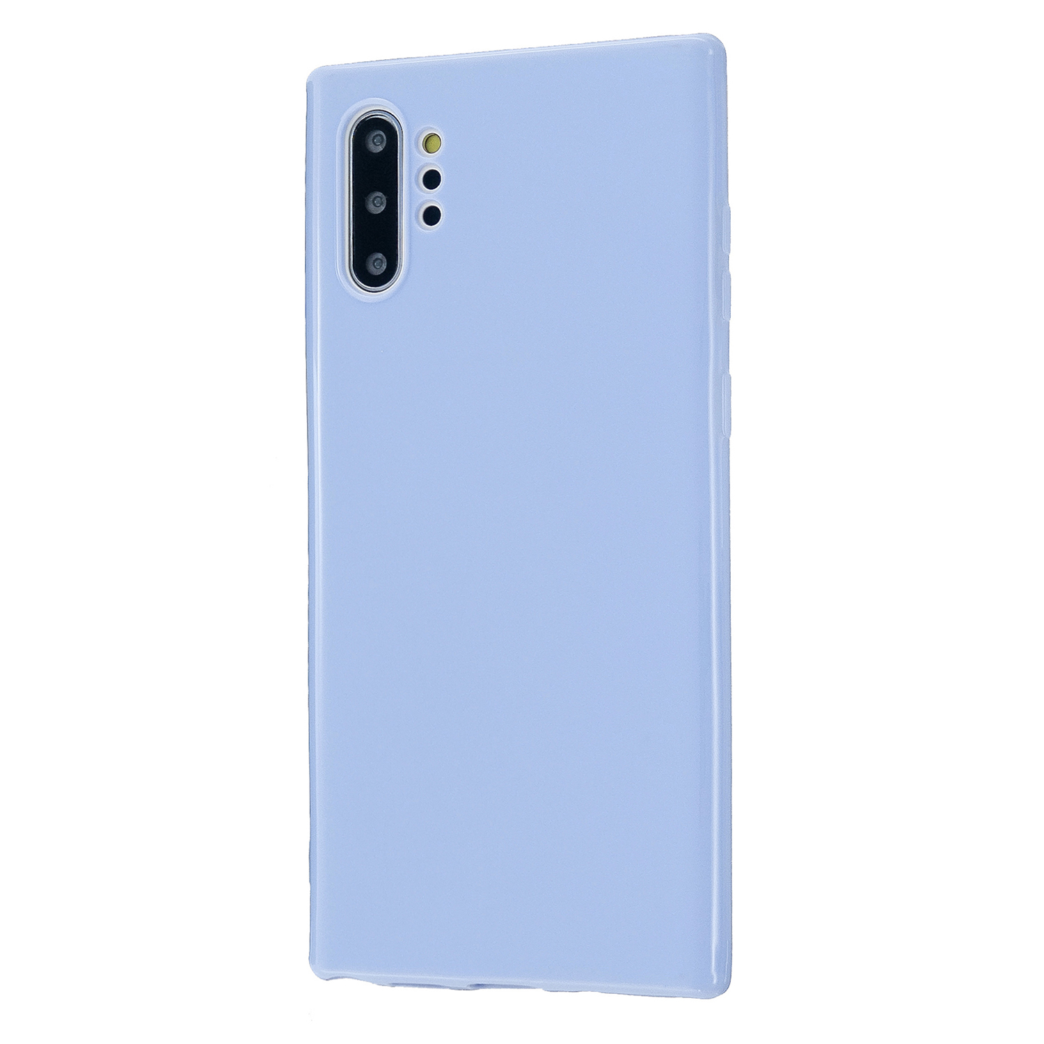 For Samsung Note 10/10 Pro Cellphone Cover TPU Phone Case Simple Profile Classic Design Shock-proof Shell Taro purple