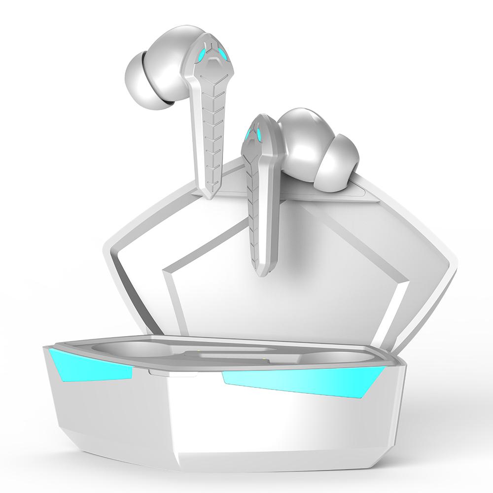 P36hifi Wireless Headphones Touch Control Sports Waterproof Tws 5.0 Bluetooth Earphones With Mic white