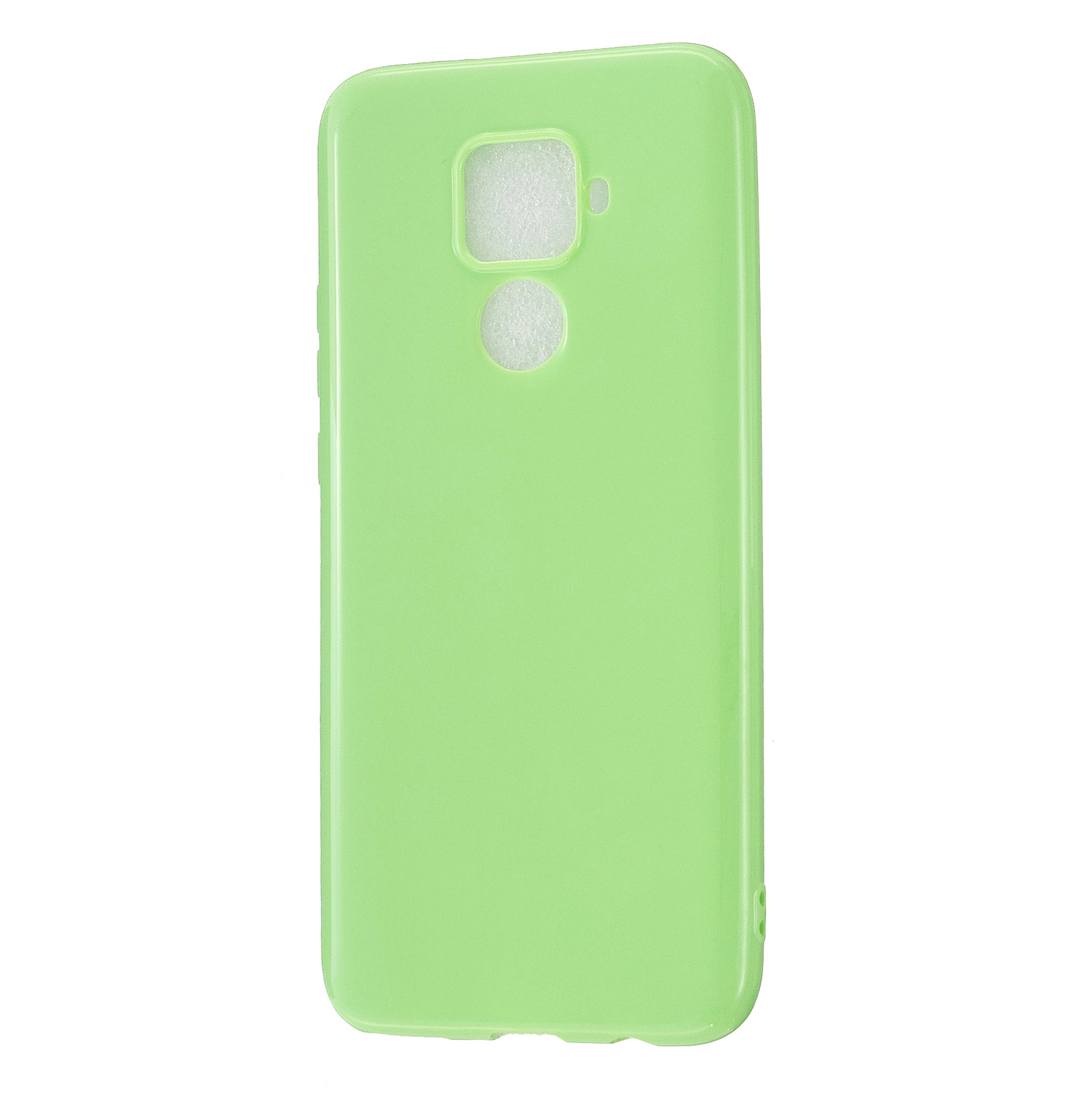 For HUAWEI Mate 30/30 Lite/30 Pro Cellphone Case Simple Profile Soft TPU Shock-Absorption Phone Cover Fluorescent green