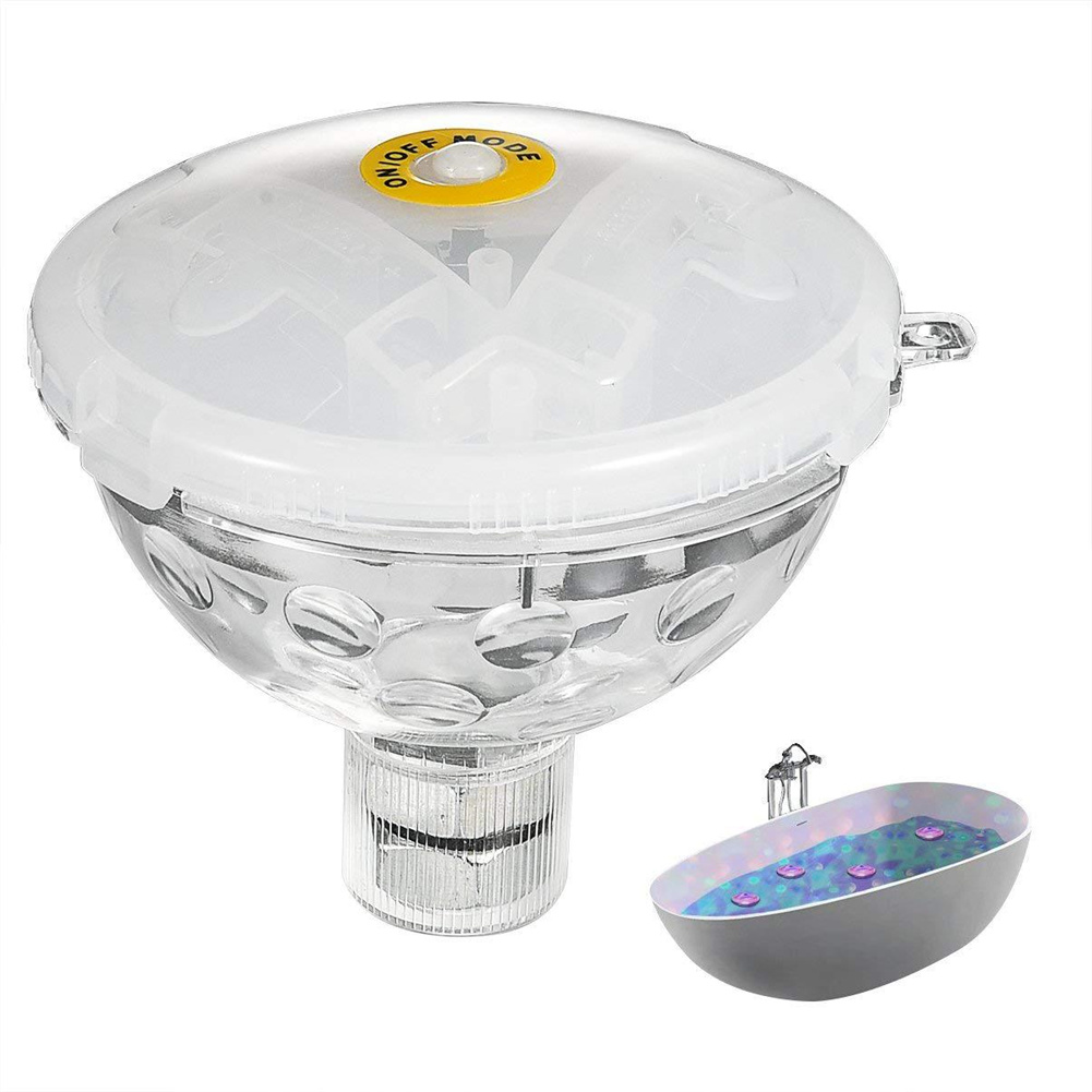 Swimming Pool Floating  Light Hot Tub Hydromassage Tub Shower Light Accessories 0.5W