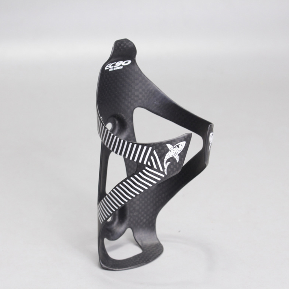Carbon Fiber Bottle Cage Bicycle Mountain Bike Highway Water Bottle Cage white