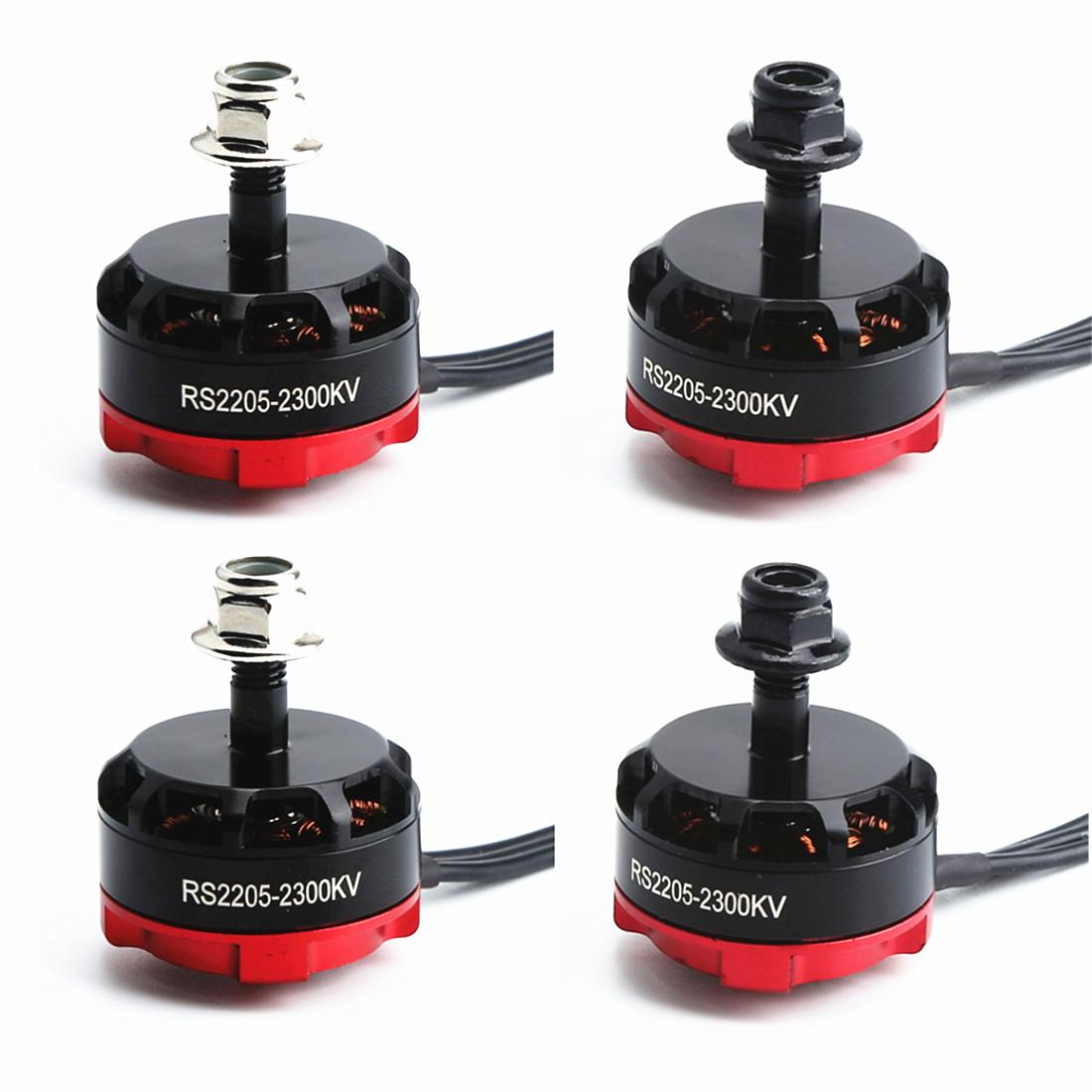 RS2205 2300KV 2205 CW/CCW Brushless Motor for FPV Racing Quad Motor FPV Multicopter 4pcs
