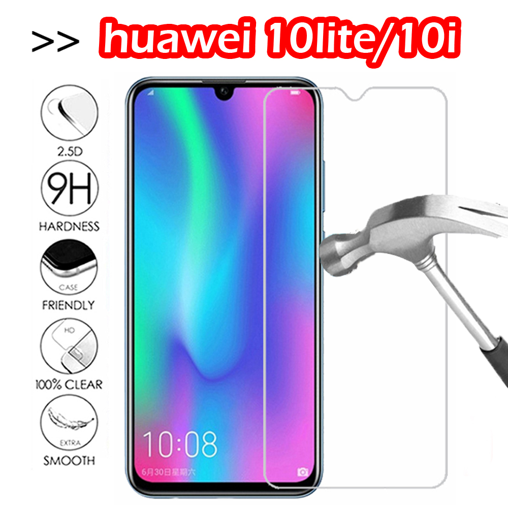 9H Protective Glass For Huawei Honor 10lite/10i Tempered Glass Screen Protector Film Transparent
