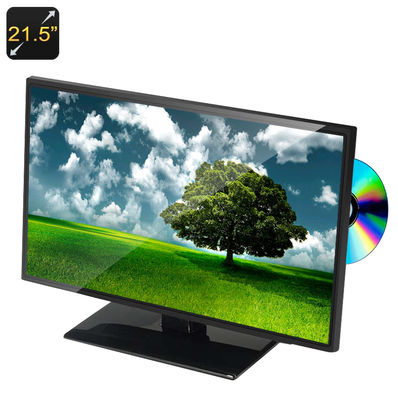 21.5 Inch Full HD Monitor + DVD Player