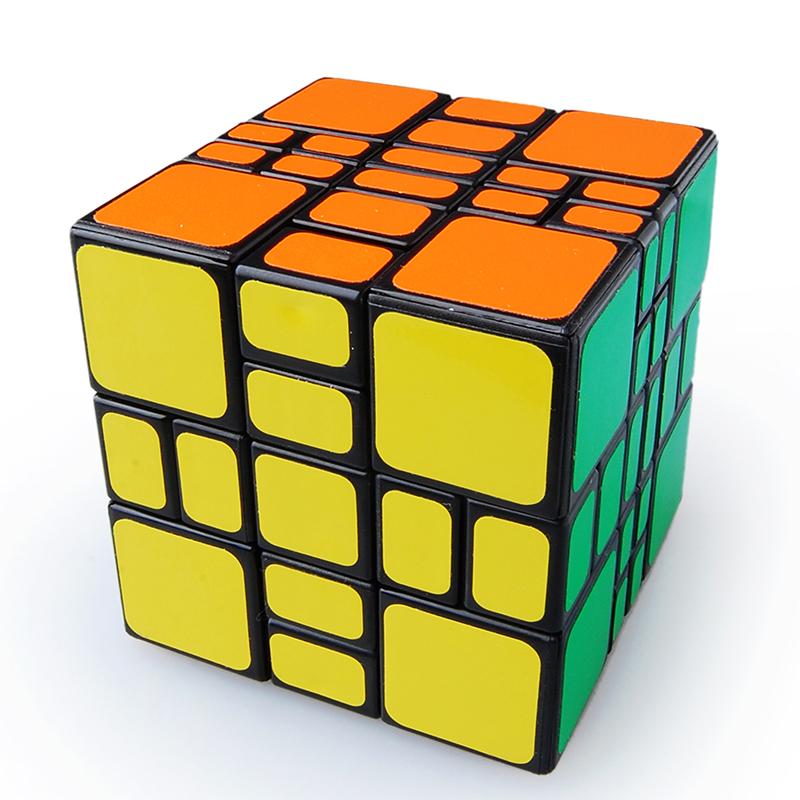 [US Direct] ThinkMax® 3x3x4 Mixup Puzzle Cube Black