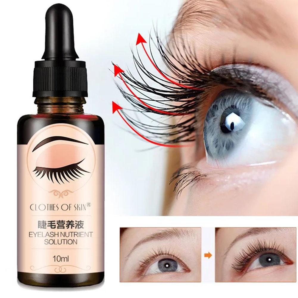 Eyelash Growth Serum Liquid Eyelash Enhancer Vitamin E Treatment lash lift Eyes Lashes Mascara  10ml