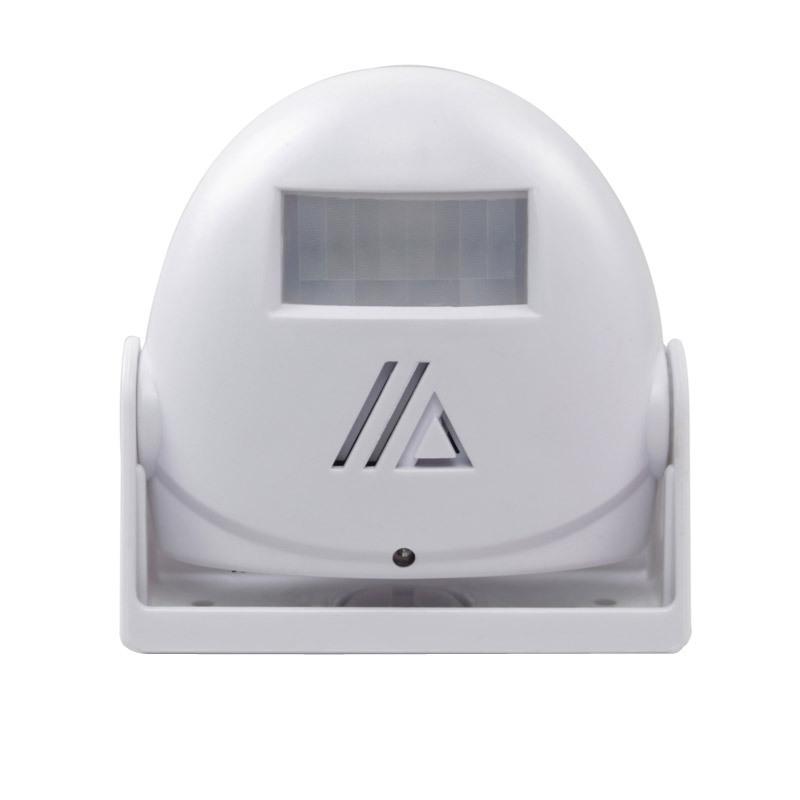Wireless  Welcome  Doorbell Infrared Sensor Detector Alarm Welcome To Sensor Doorbell white