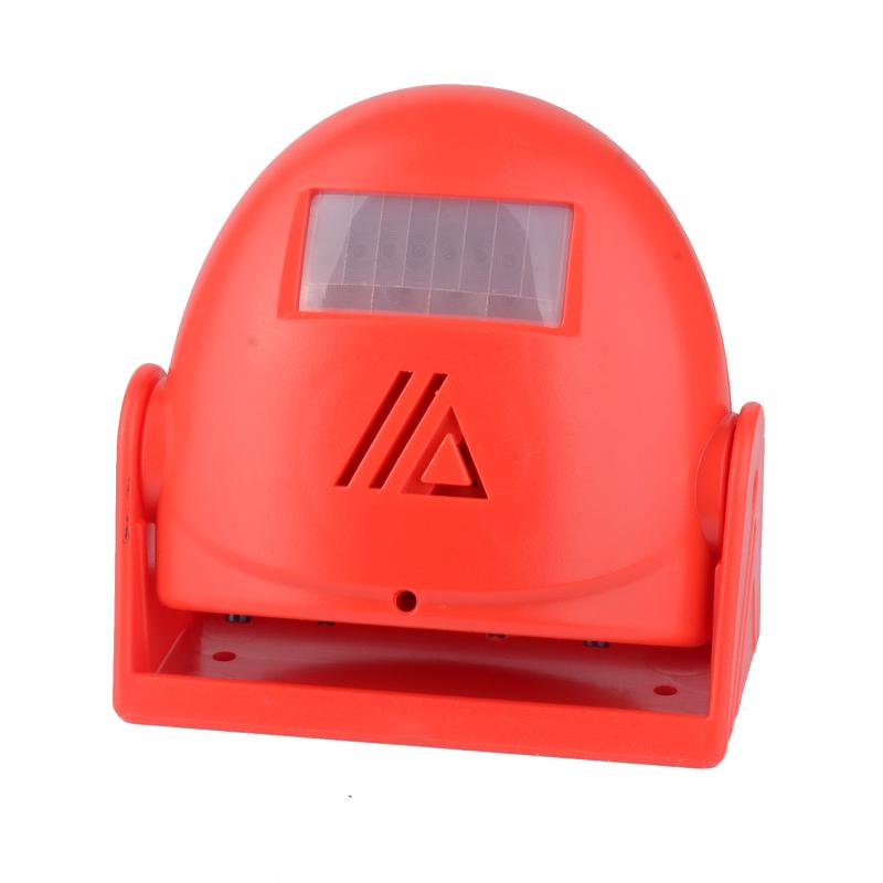 Wireless  Welcome  Doorbell Infrared Sensor Detector Alarm Welcome To Sensor Doorbell red