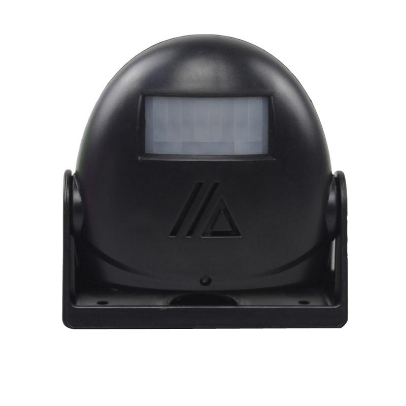 Wireless  Welcome  Doorbell Infrared Sensor Detector Alarm Welcome To Sensor Doorbell black