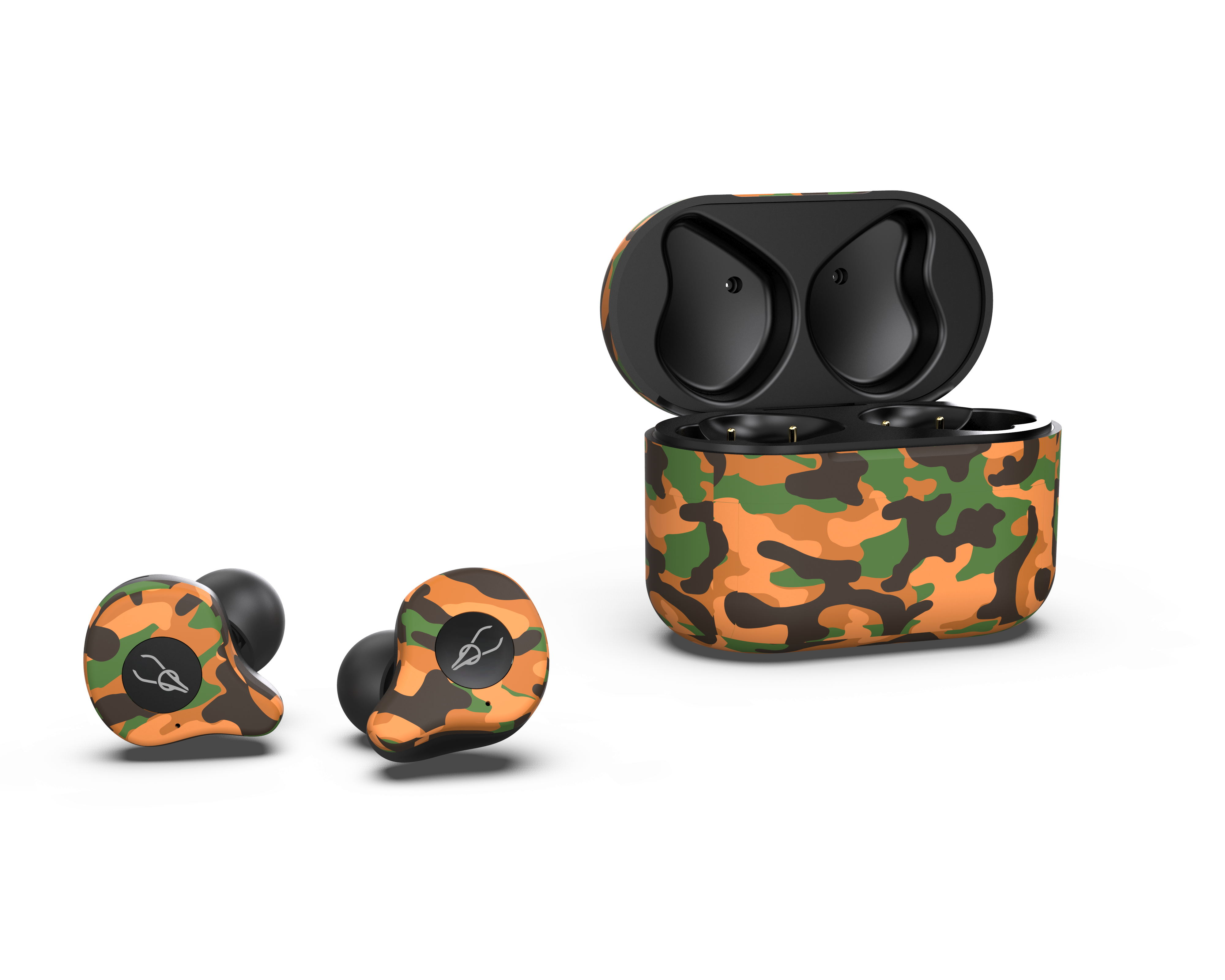 Sabbat E12 Ultra Camouflage TWS Bluetooth 5.0 Earphone Stereo Wireless Sport Earbuds Sahara