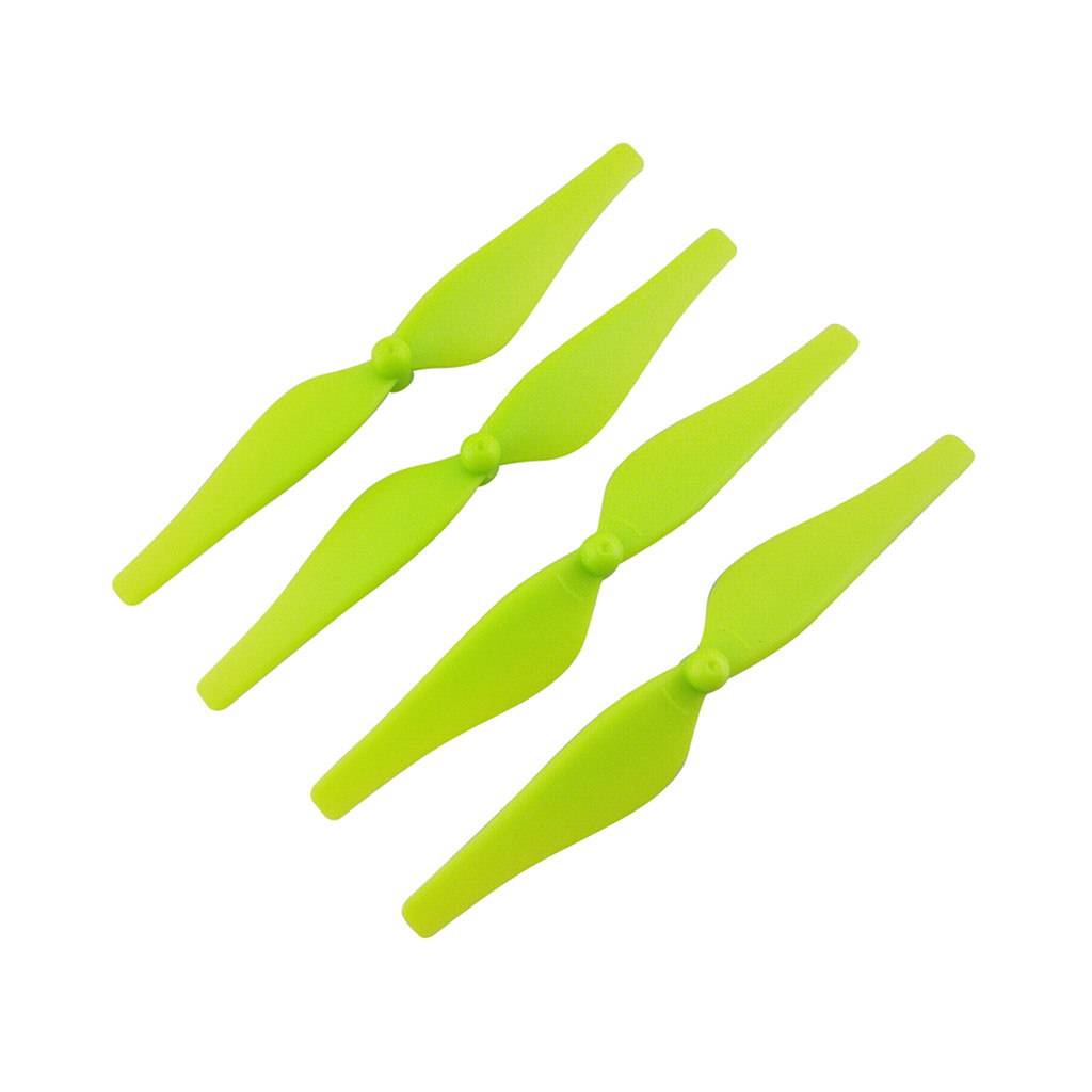 Propellers Blade Accessories for Tello RC Quadcopter Drone Four Axis Aircraft green