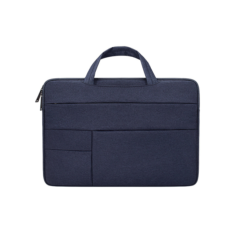Simple Laptop Case Bag for Macbook Air 11.6 inches, 12.5 inches, 13.3 inches, 14.1 inches Notebook Handbag  Navy_12.5 inches