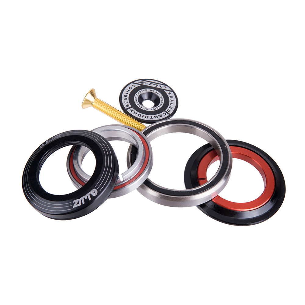 ZTTO 42 52mm MTB Bicycle Front Fork Tapered Tube Fork Bearings Head Set Bicycle Accessories  Fork bearing bowl accessories